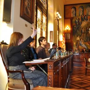 CiU y ERC se enzarzan en la Diputación de Lleida a causa de la liberación de la AP-2
