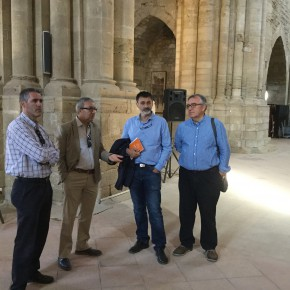 """Óscar Uceda: """"Desde Ciutadans haremos todo lo posible para impulsar la candidatura de la Seu Vella como Patrimonio Mundial"""""""