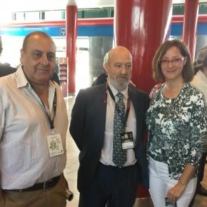 Representantes de Ciutadans Lleida visitan la Fruit Attraction de Madrid para apoyar al sector frutícola de Ponent presente en la Feria