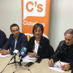 Rueda de prensa para presentar los Presupuestos Participativos de C's Lleida