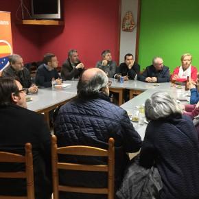 Los vecinos de Cappont trasladan a Ciutadans Lleida sus inquietudes con el comercio local