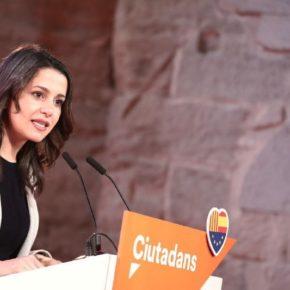 """Inés Arrimadas: """"Ciudadanos es la única llave que puede abrir una nueva etapa política de convivencia en Cataluña"""""""