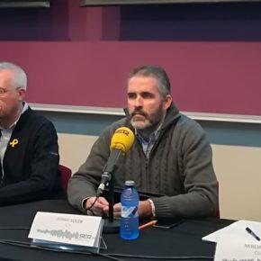 """Jorge Soler: """"El 21D Ciudadanos aspira a crecer y conseguir el tercer diputado por Lleida"""""""