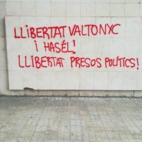 Ciutadans denuncia un nou atac amb pintades a la seva seu de Lleida i condemna qualsevol tipus de violència i coacció