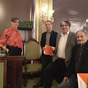 Ciudadanos apuesta porque Lleida celebre de forma activa el Año Europeo del Patrimonio Cultural 2018