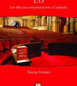 """Ángeles Ribes presenta el libro de la catedrática Teresa Freixes """"155. Los días que estremecieron Cataluña"""" en Lleida"""