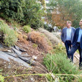 Ciudadanos Lleida pide la limpieza y el mantenimiento de los Jardins de la Serreta