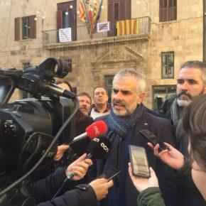 """Carrizosa: """"La investigación a Borràs demuestra que el goteo de corrupción en Cataluña es constante"""""""