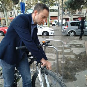 Ciutadans Lleida proposa implantar un servei d'aparcament tancat per a bicicletes i patinets