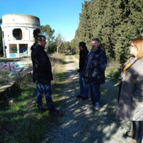 Ciudadanos Lleida denuncia el 'preocupante' estado de degradación de la zona más próxima a las antiguas dependencias militares del Turó de Gardeny