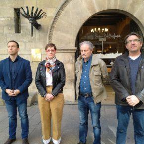 Ciudadanos Lleida recuerda a las víctimas del 11-M con un minuto de silencio