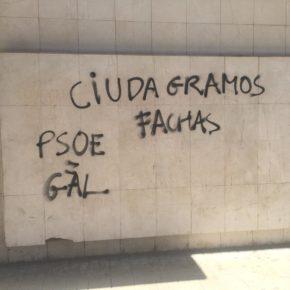 Ciutadans denuncia un nuevo episodio de pintadas en la sede de Lleida