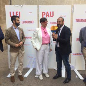"""Ángeles Ribes: """"Vamos a luchar hasta derribar ese muro del odio y conseguir una Lleida abierta, tolerante y progresista"""""""