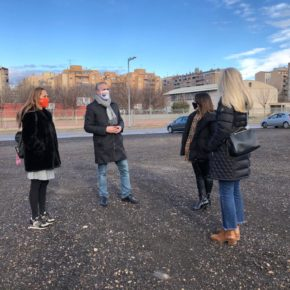 El equipo de Ciutadans (Cs) en Lleida reivindica de nuevo que se construya el instituto de Cappont