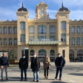 Jorge Soler insta a aumentar la frecuencia de los trenes en Lleida y a mejorar la conectividad en la provincia